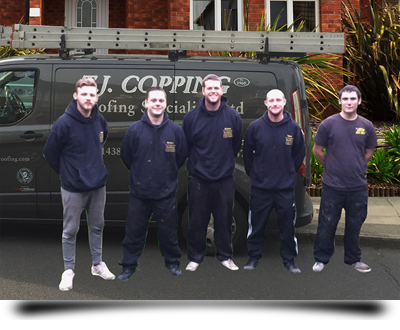 T. J. Copping Ltd team